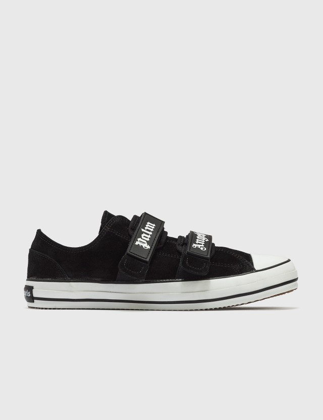 Palm Angels Velcro Vulcanized Sneakers Black Men