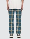 Liam Hodges Slim Tartan Trousers Picture