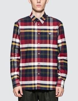 Maison Kitsune Tartan Classic Shirt