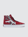Vans Checker Flame Sk8-hi Picture