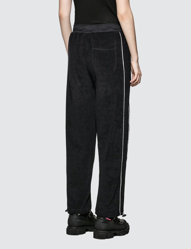 Wasted Paris Terry Black Bridge Jogging Pants