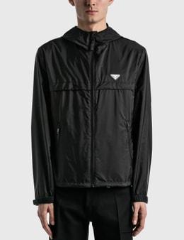 Prada Logo Windbreaker Jacket