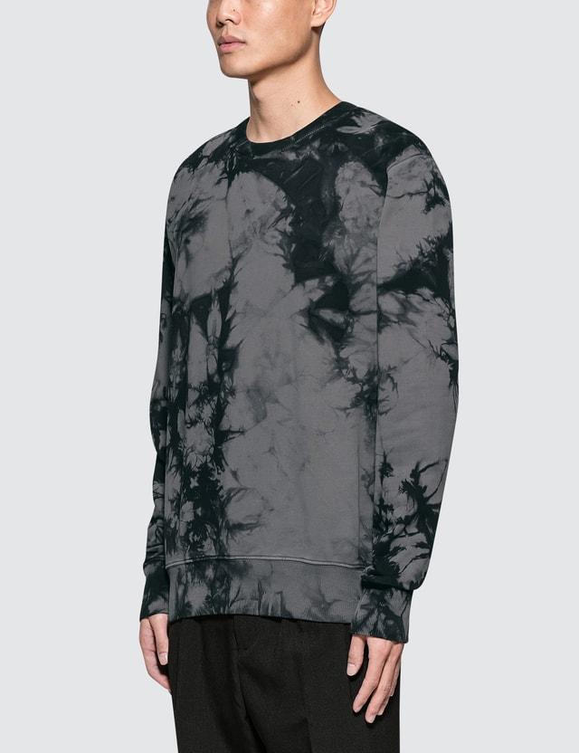 Helmut Lang Tie Dye Logo Sweatshirt