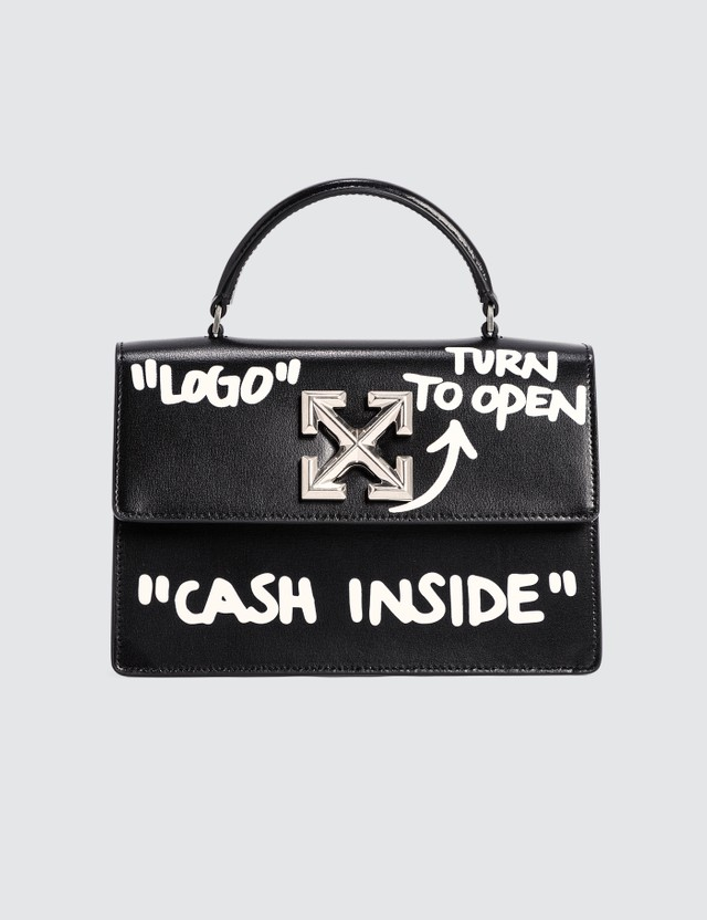 Off-White Jitney 1.4 Cash Inside Crossbody Bag