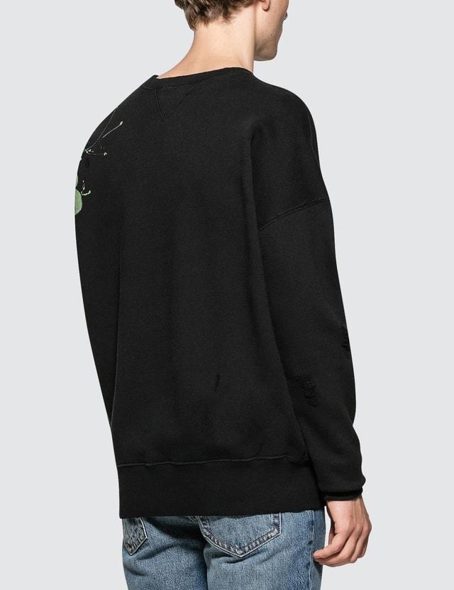 Faith Connexion Tag Crewneck Sweater