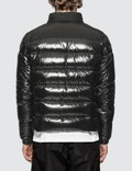 Moncler Nylon Down Jacket with Zip Detail