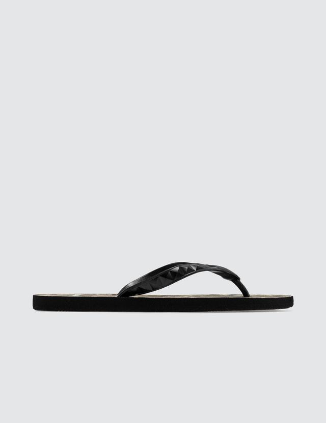 Wacko Maria Wacko Maria x HAYN Leopard Beach Sandals