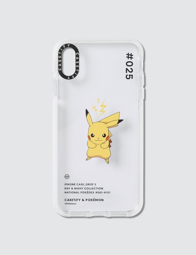 Casetify Pikachu 025 Pokédex Day Iphone XS Max Case