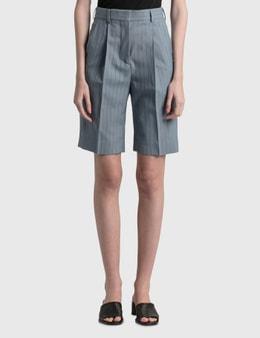 Acne Studios Ruthie Pinstripe Suit Shorts