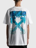Off-White Blue Marker Oversized T-shirt White Blue Men