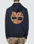 Timberland Core Tree Logo Zip Up Hoodie