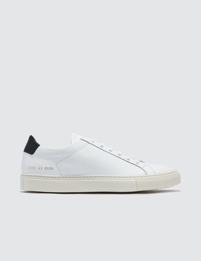 Common Projects Retro Low Sneaker