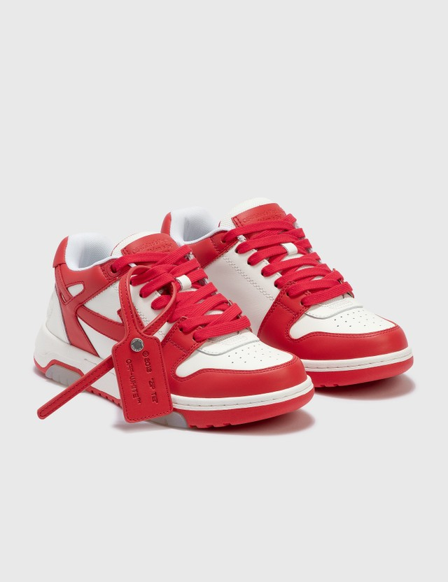 Off-White Out Of Office Sneaker Red Women