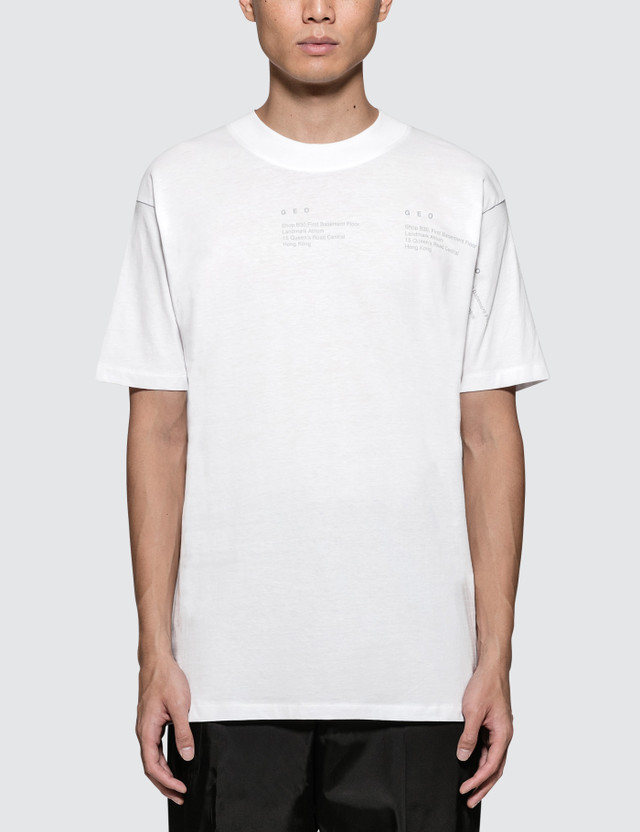 GEO Geometric S/S T-Shirt White Men