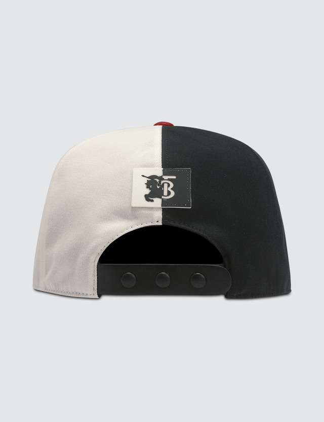 Burberry Trucker Cap Black/white Women