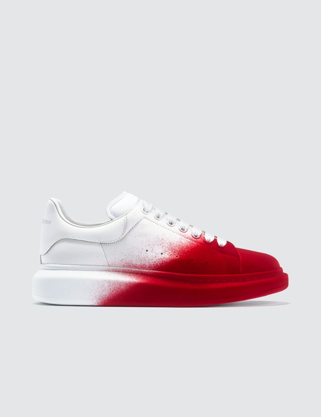 Alexander McQueen Chunky Spray Paint Sneakers