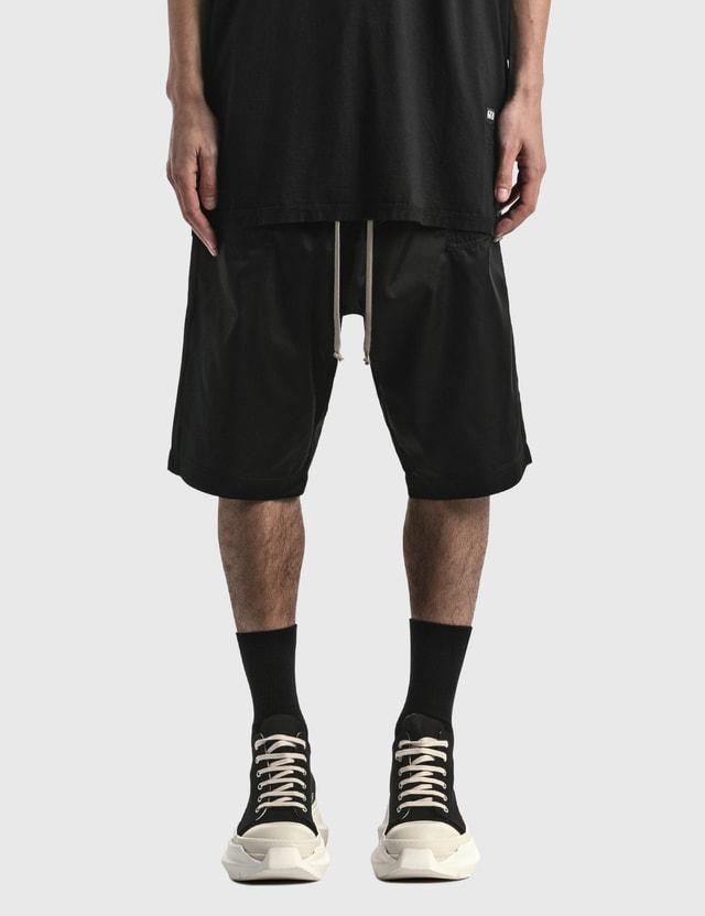 Rick Owens Drkshdw Rick S Bela Shorts Black Men
