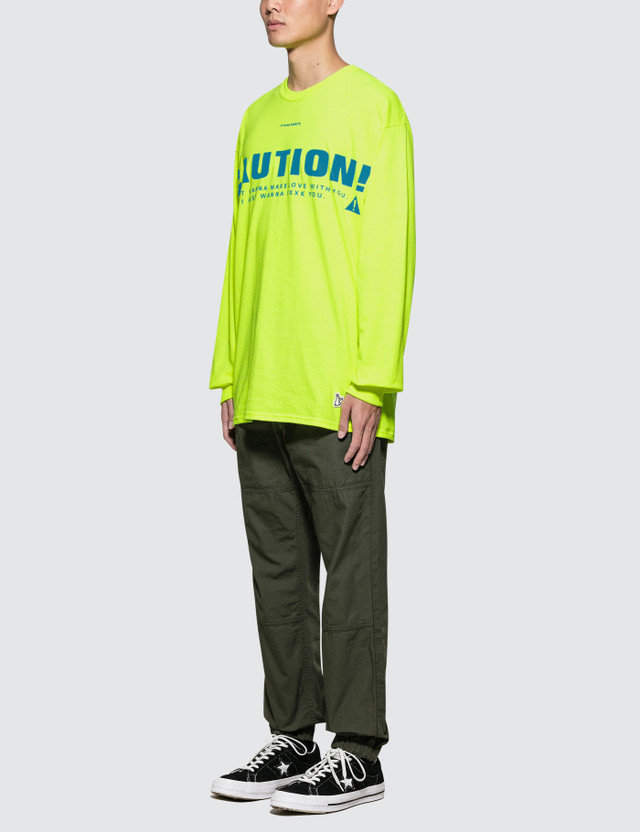 #FR2 Caution L/S T-Shirt
