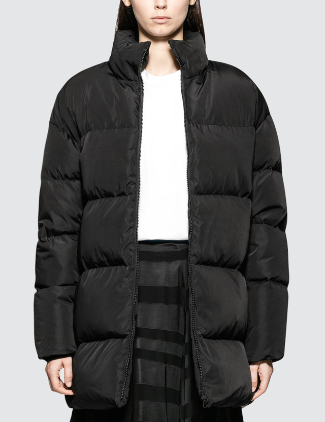CALVIN KLEIN JEANS EST.1978 Back Printed Down Puffer Jacket
