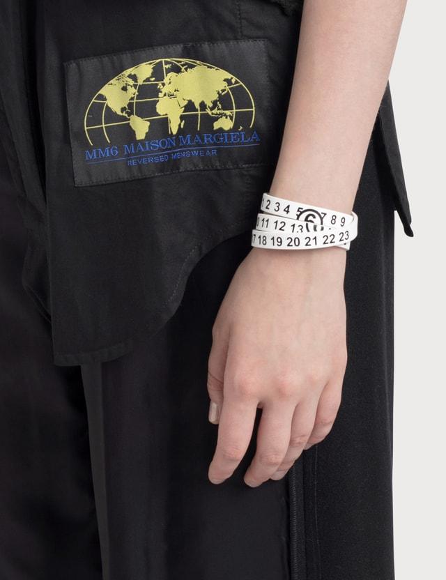 MM6 Maison Margiela Multi-wear Logo Bracelet