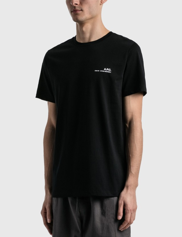 A.P.C. Item T-shirt Black Men