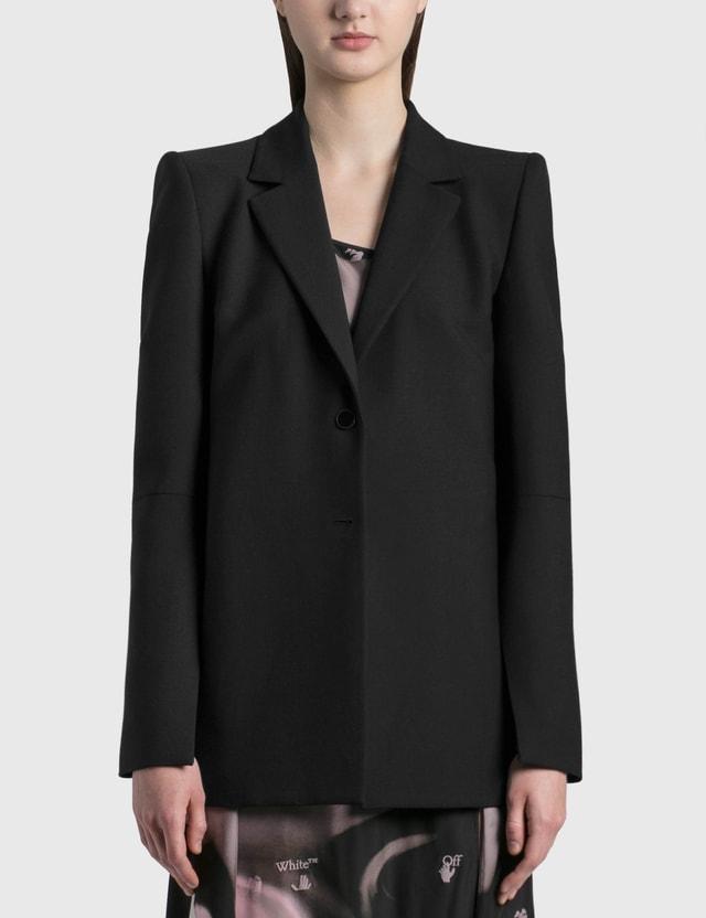 Off-White Formal Jacket Black NoColor Women