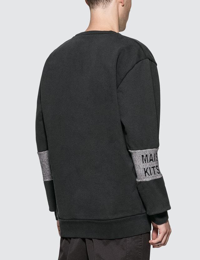 Maison Kitsune Jacquard Rib Sweatshirt