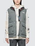 C2H4 Los Angeles Reversible User Interface Cords Down Vest Picture