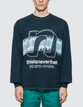 Thisisneverthat N-Tie Dye Long Sleeve T-shirt Picutre