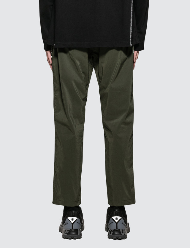 White Mountaineering Stretched 8/10 Length Tapered Pants