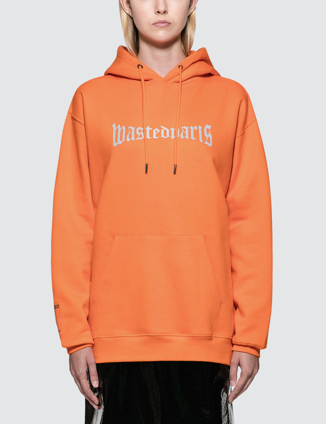 Wasted Paris London Reflective Hoodie