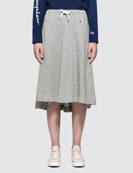 CHAMPION JAPAN | Champion Japan Sweat Skirt | Goxip