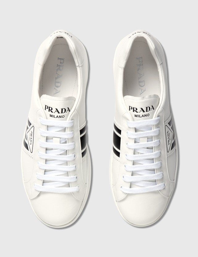 Prada New Avenue Leather Sneakers