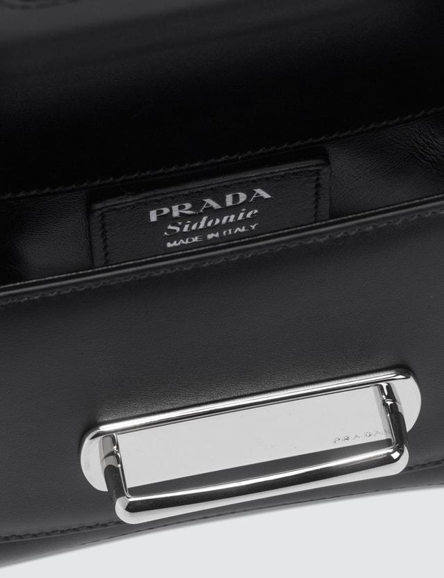 Prada Sidonie Leather Shoulder Bag