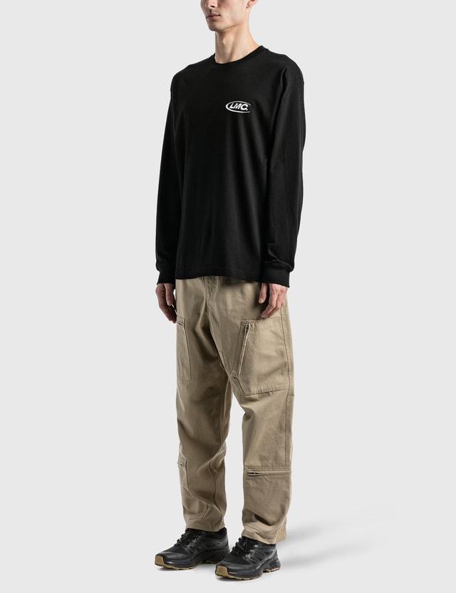 LMC 3D Co Long Sleeve T-Shirt Black Men