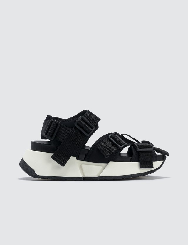 MM6 Maison Margiela Safety Strap Platform Sandal