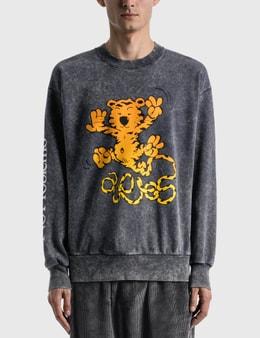 Aries Flatulent Tiger Sweatshirt