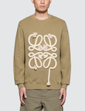 Loewe Exclusive Anagram Rope Sweatshirt Picture