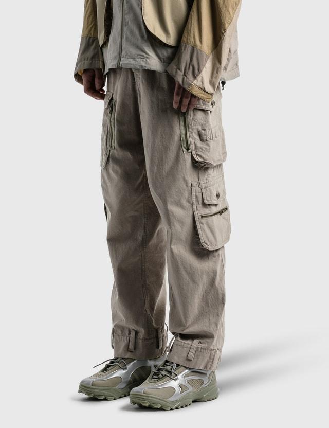 Hyein Seo Cargo Pants Grey Men