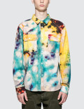 Stussy Tie Dye Work L/S Shirt Picture