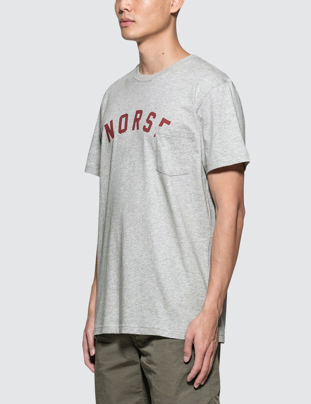Norse Projects Niels Classic Ivy Logo S/S T-Shirt