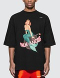 Palm Angels Mermaid Logo Oversized T-shirt Picture