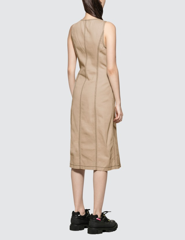 Stussy Bailey Contrast Stitch Dress