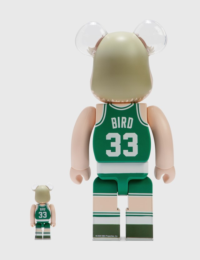 Medicom Toy Be@rbrick Larry Bird (Boston Celtics) 100%&400% Set