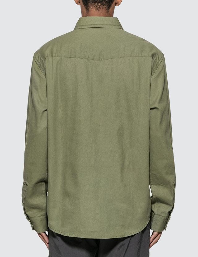 Stussy Wavy Long Sleeve Shirt