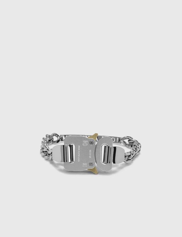 1017 ALYX 9SM 1017 ALYX 9SM Buckle Bracelet Silver Men