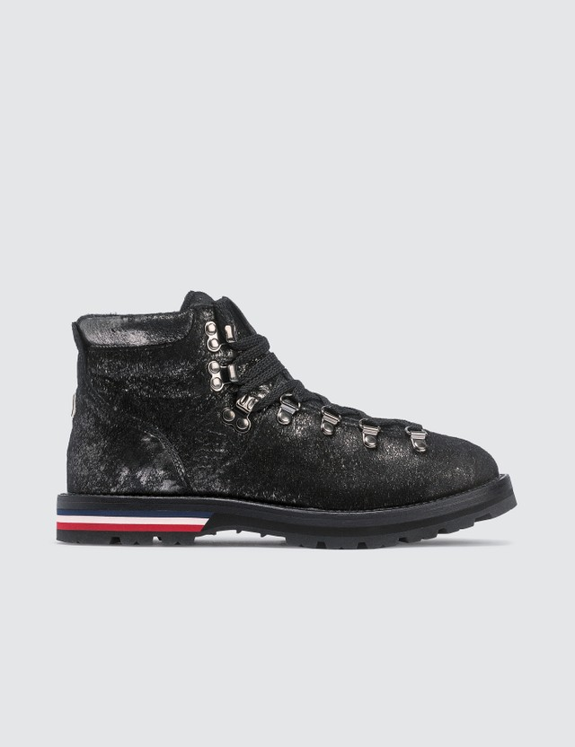 Moncler Leather Hiking Boots
