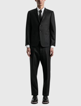 Thom Browne Super 120s Wool Twill Classic Suit And Tie