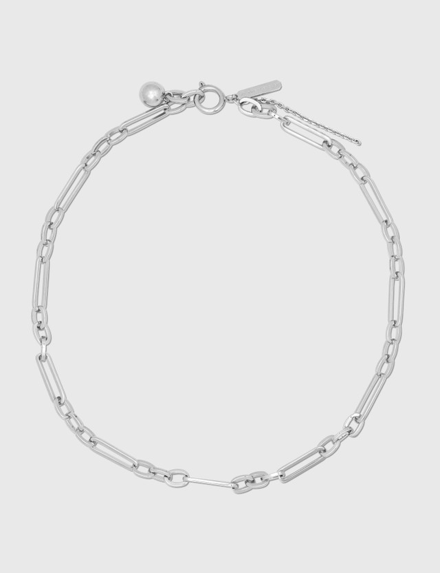 Justine Clenquet Ali Necklace Silver Women