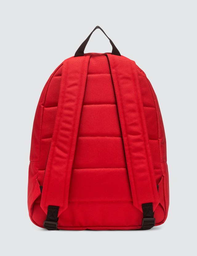 MSGM Logo Backpack Red Men